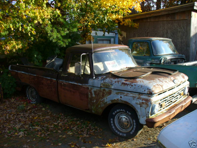 Something about old Ford trucks – Part II