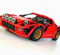 Even in Lego form the Stratos is awesome!
