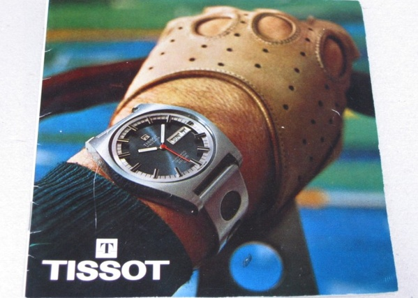 Vintage Tissot Ad featuring the PR 516.