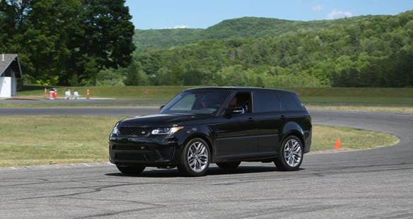 Hot Laps in a Range Rover Sport SVR courtesy of Prestige Land Rover