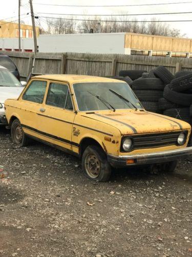 """""""1977 Fiat 128 Custom Coup"""""""