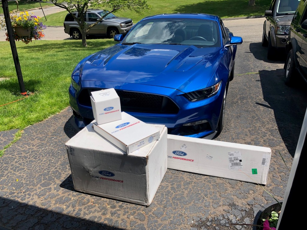 Goodies from Ford Performance